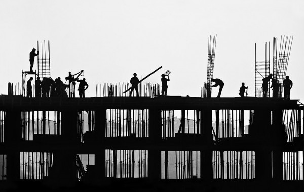 THE CONSTRUCTION SCENE